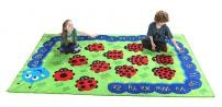 Back to Nature Chloe Caterpillar Number Rug