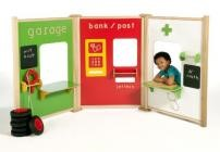 Childrens Role Play Panels Professions Set