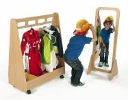 Freestanding Mirror and Dress Up Trolley Kit