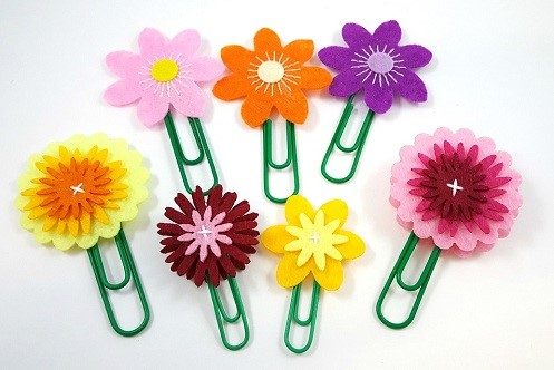 Paperclip Flowers