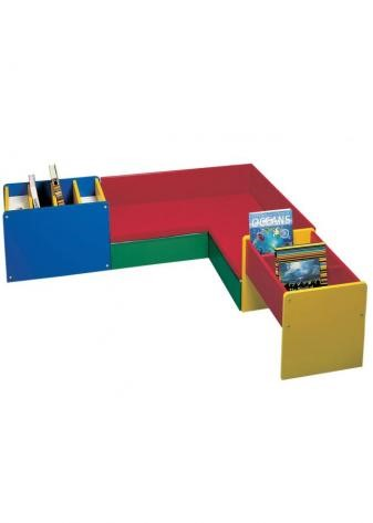 Reading Corner L Shape Seating Unit