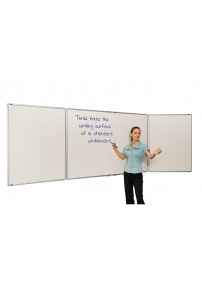 Space saving Fold out Whiteboard Writing Board