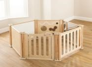 Toddler Playpen Panels Enclosure Set