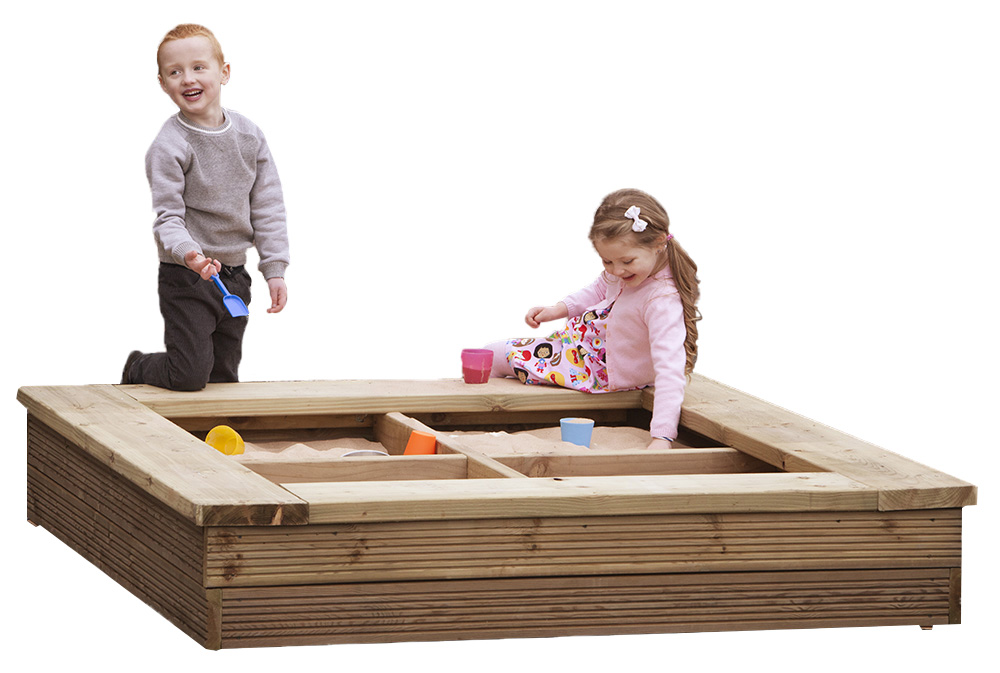 Outdoor Wooden Sand Pit