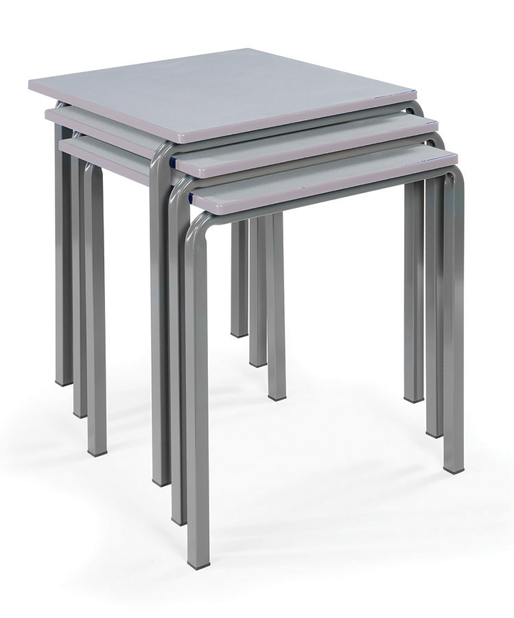 Reliance Square Classroom Table Pack of 4
