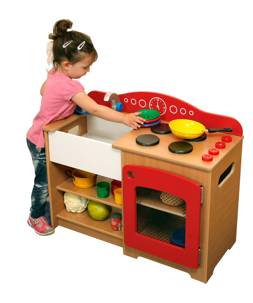 Lincoln Home Corner Play Kitchen