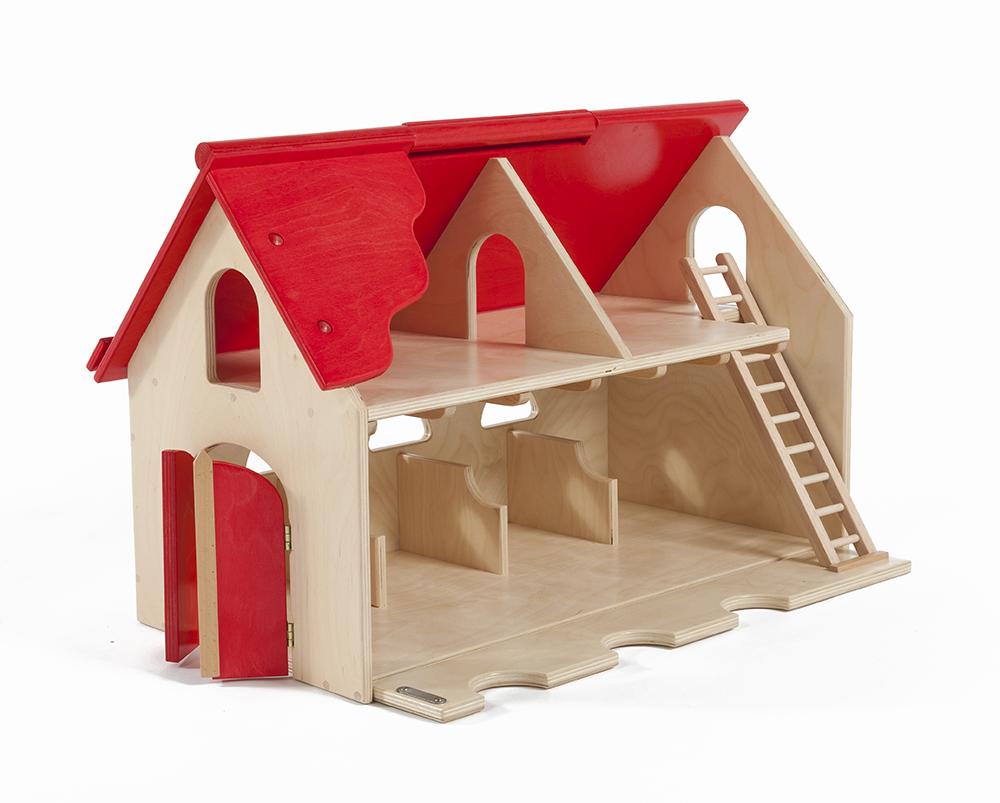 Wooden Play Farm House