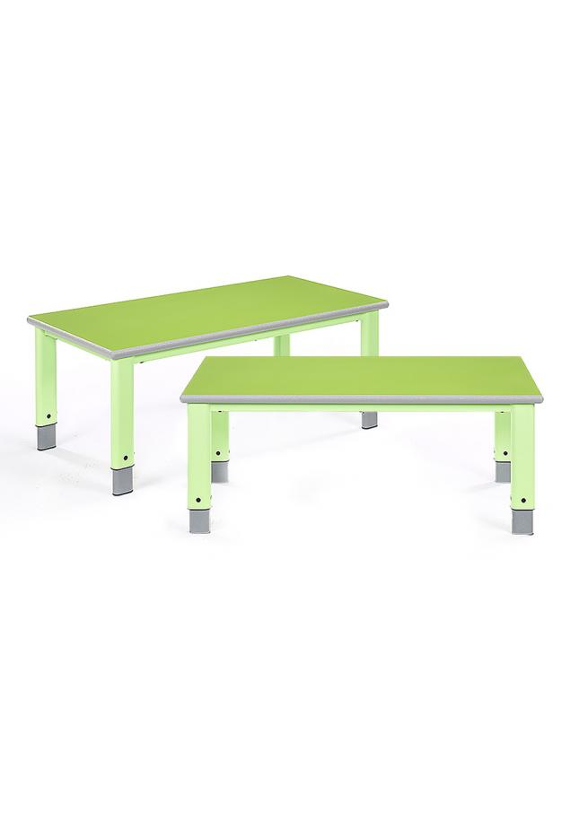 Start Right Height Adjustable Classroom Table Rectangular Pack of 2