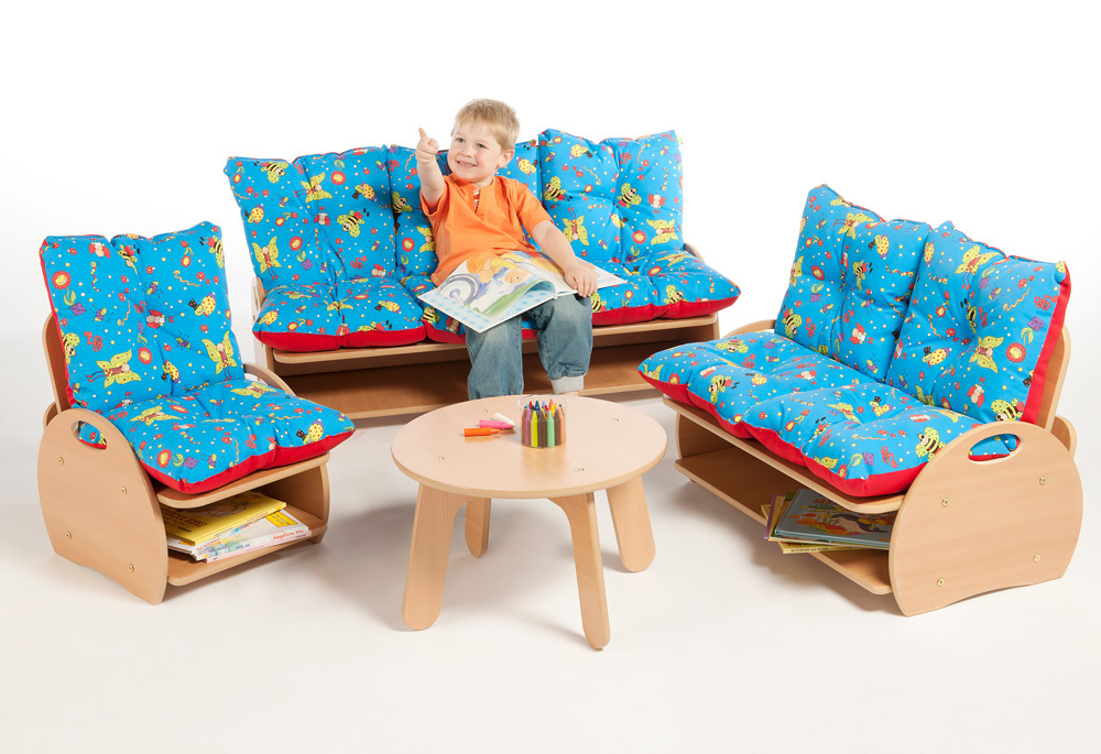 Childrens Three Seat Sofa