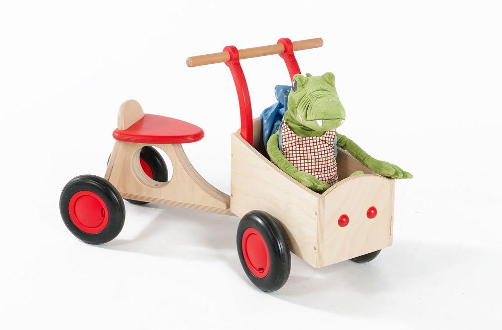 Toddler Wooden Wagon