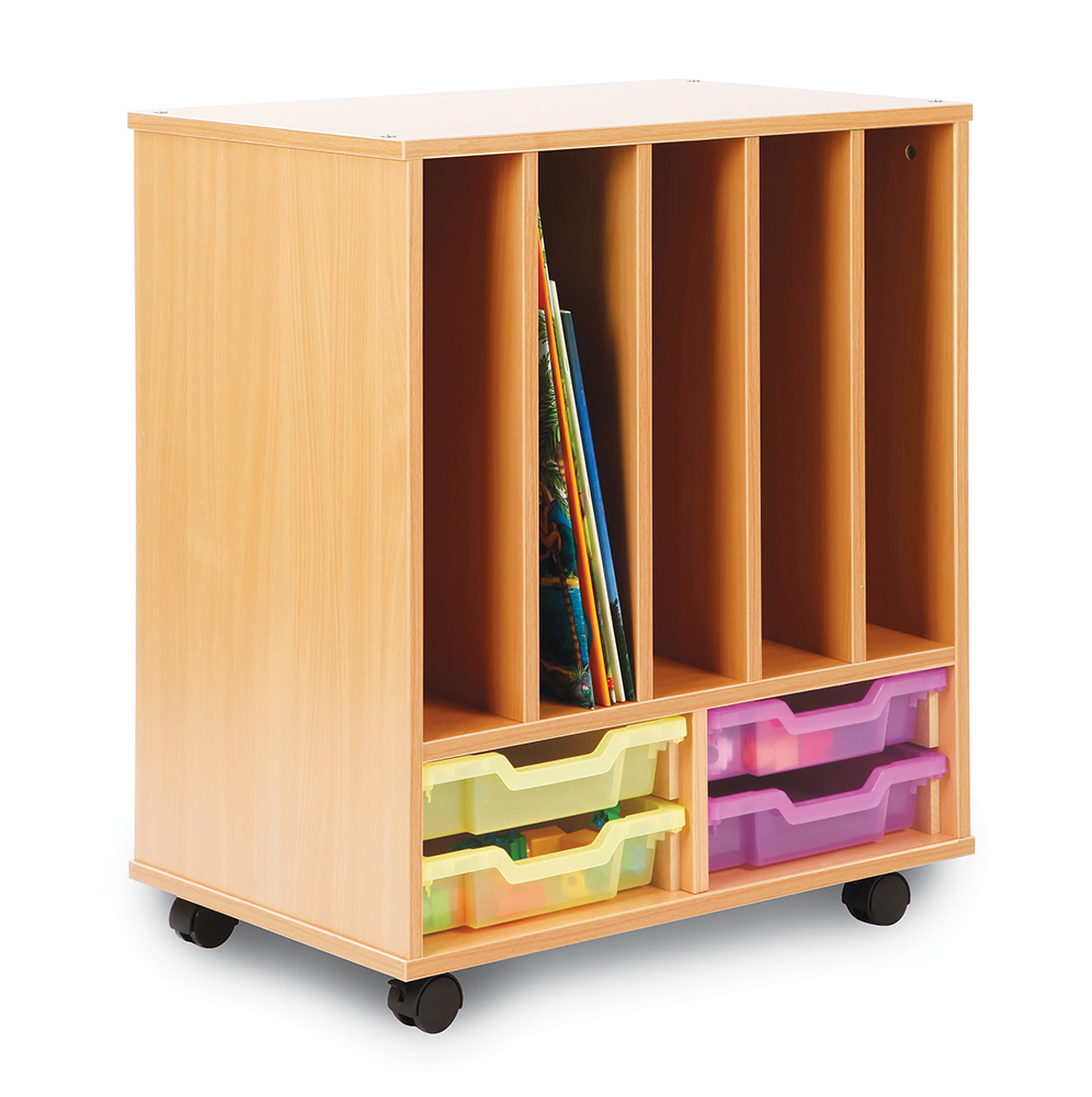 Allsorts Stackable Big Book Storage Unit
