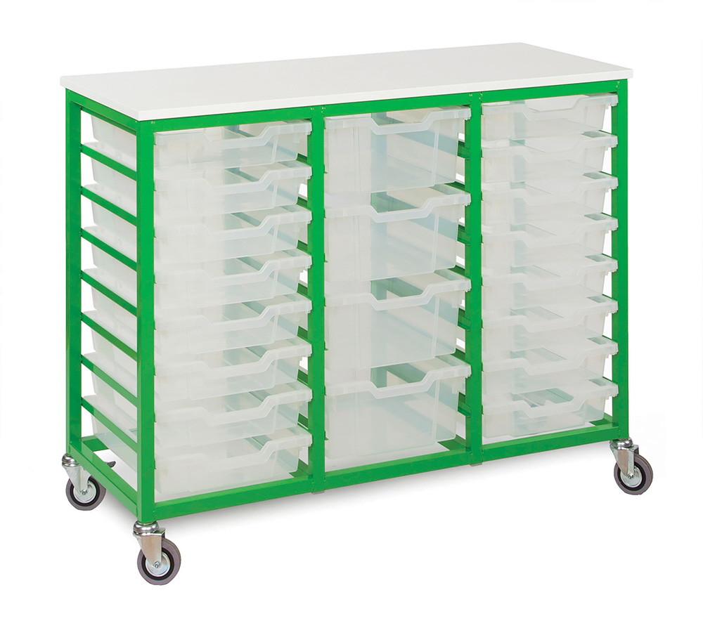 Mobile Metal Classroom Storage Unit