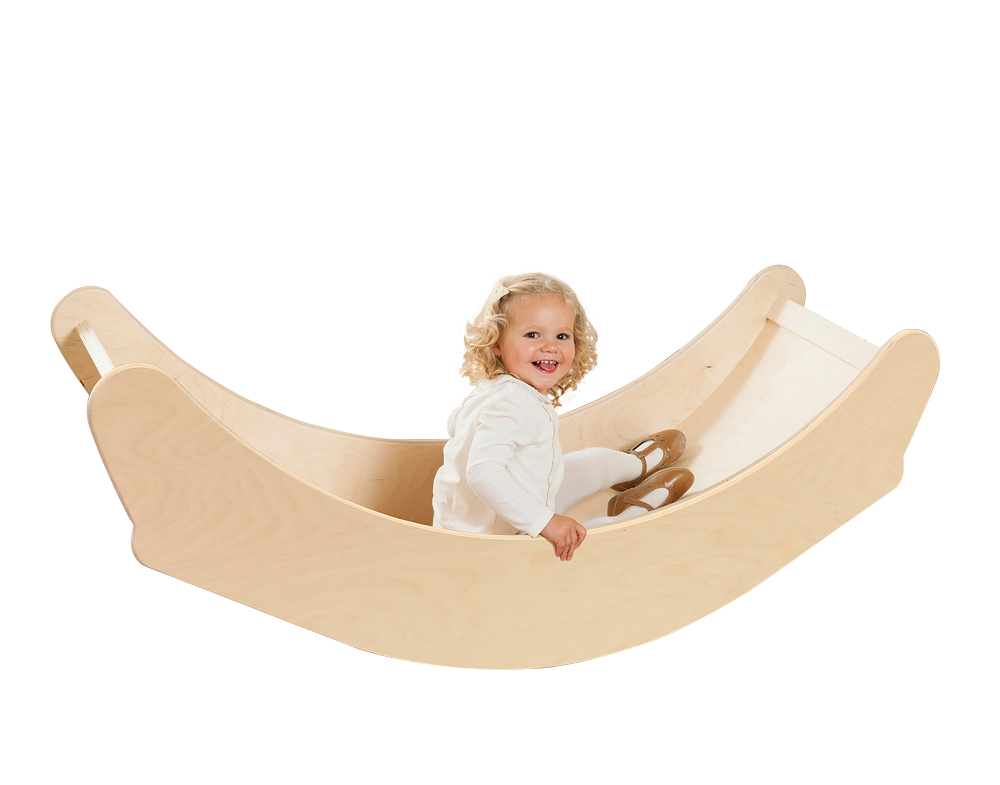 3-in-1 Wooden Rocking Boat