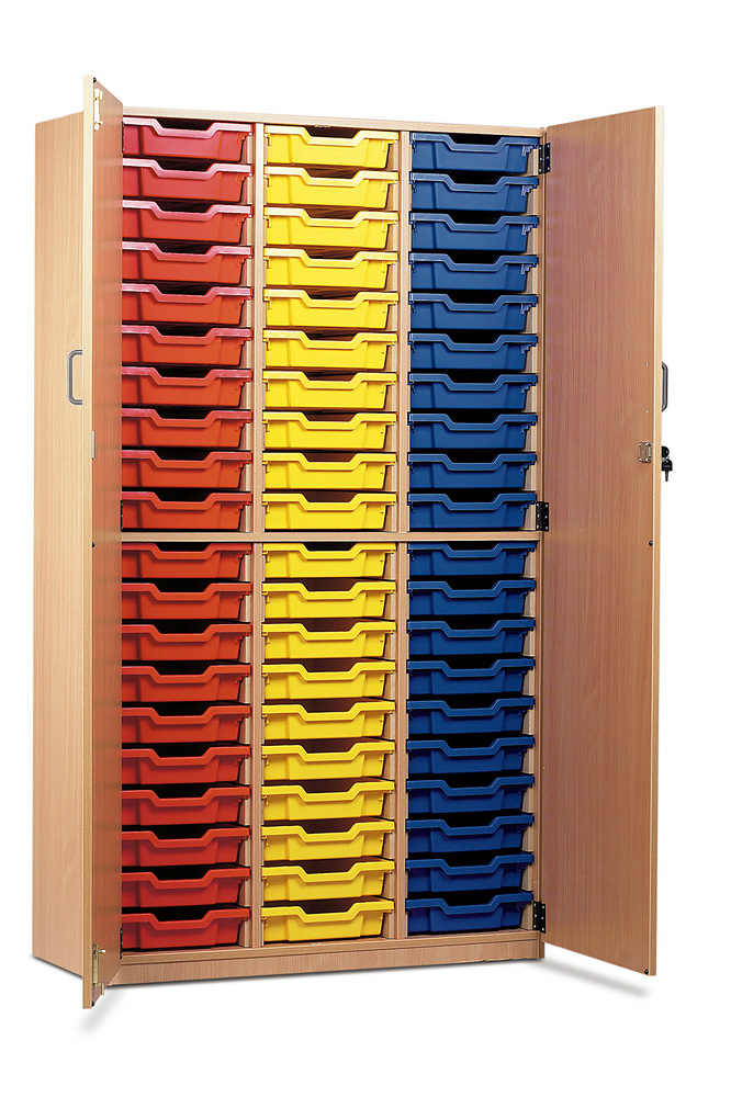 60 Shallow Tray Storage Cupboard