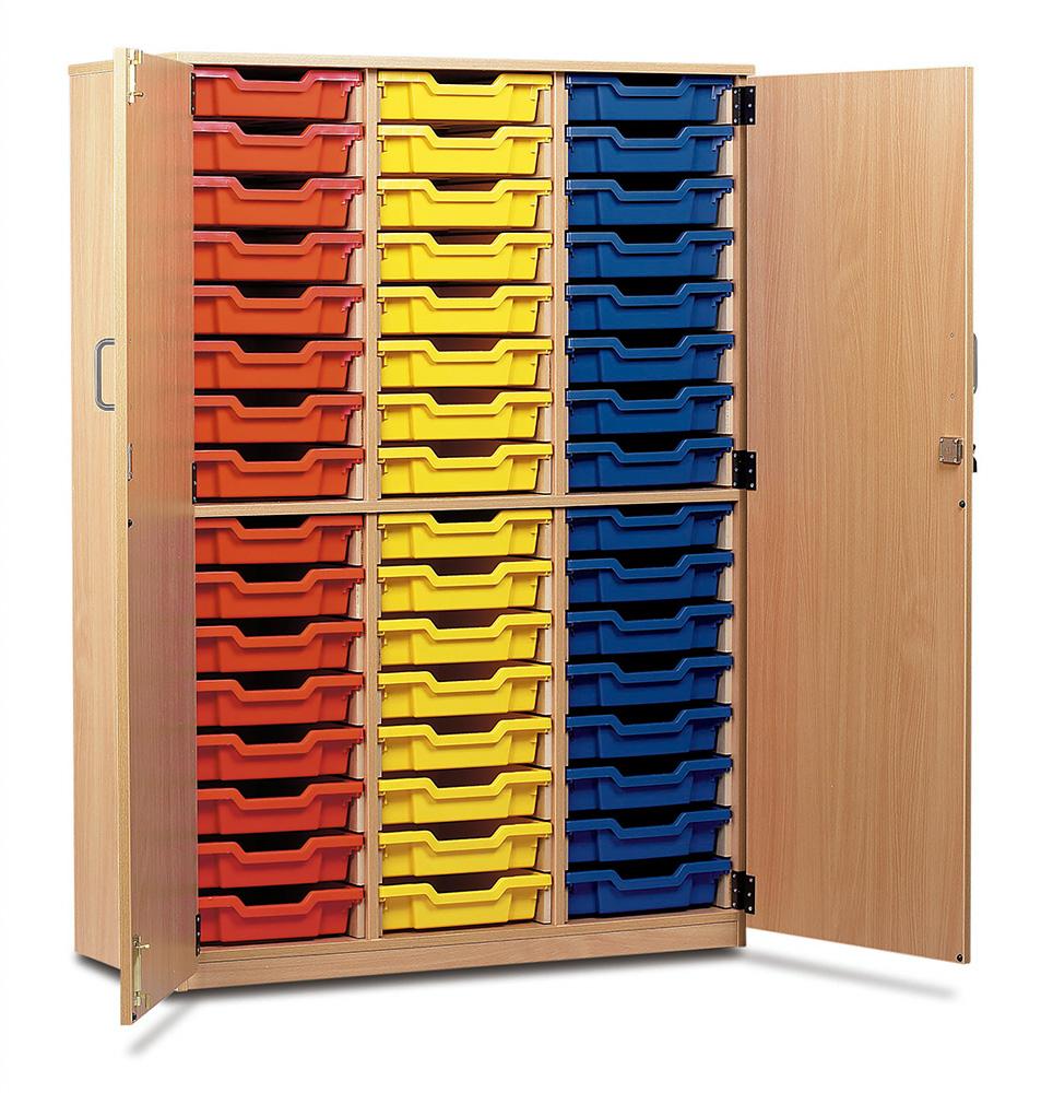 48 Shallow Tray Storage Cupboard