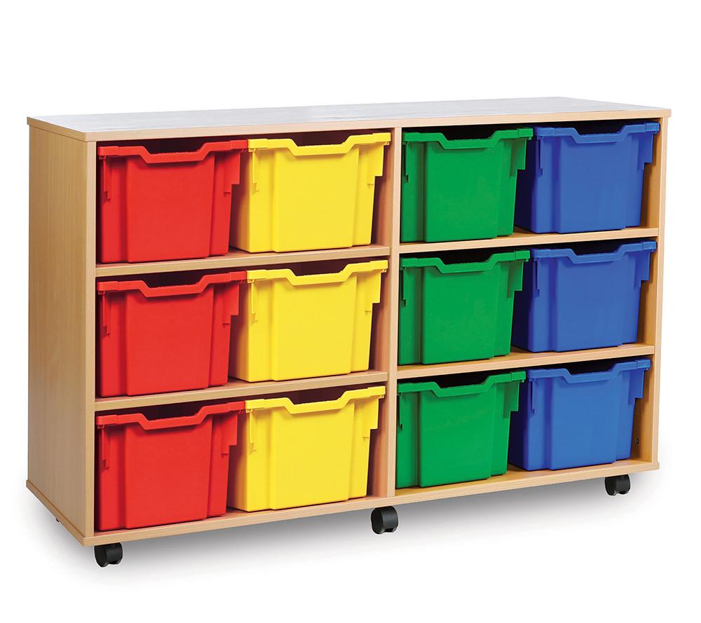 Extra Deep School Storage Trays