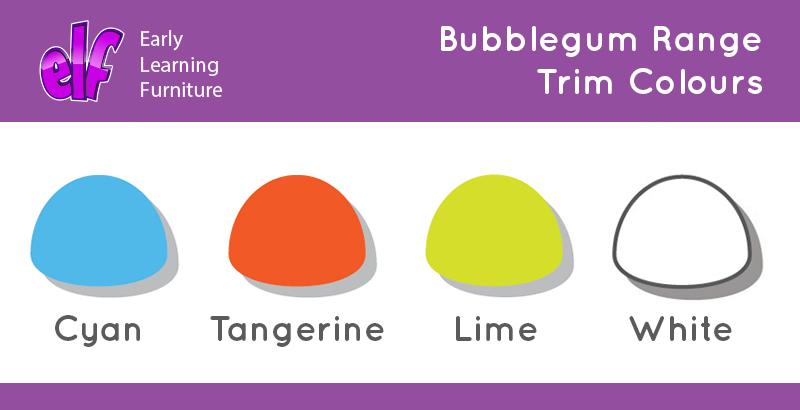 Bubblegum Classroom Storage Unit 12 Variety Trays