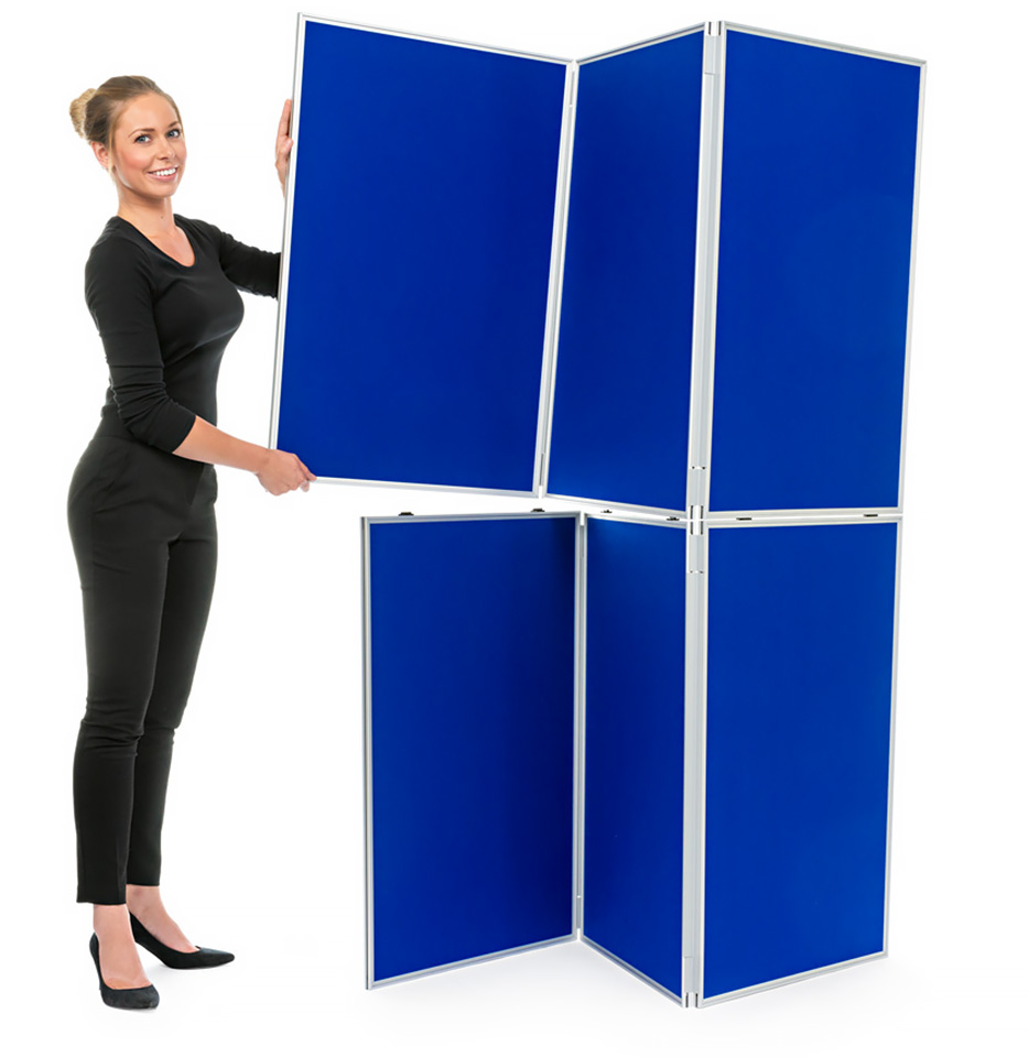 Aluminium Frame 8 Panel School Display Board