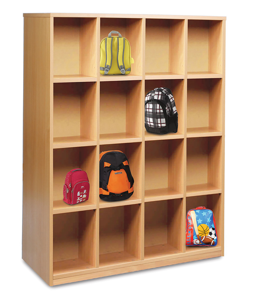 Cloakroom Bag Storage Unit