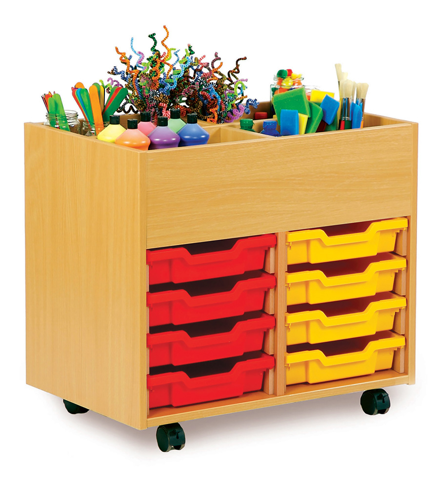 Art Storage Kinderbox With Trays