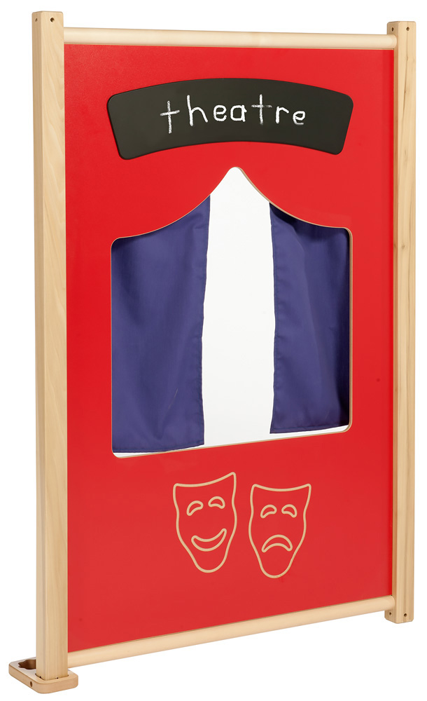 Childrens Role Play Panels Theatre Set