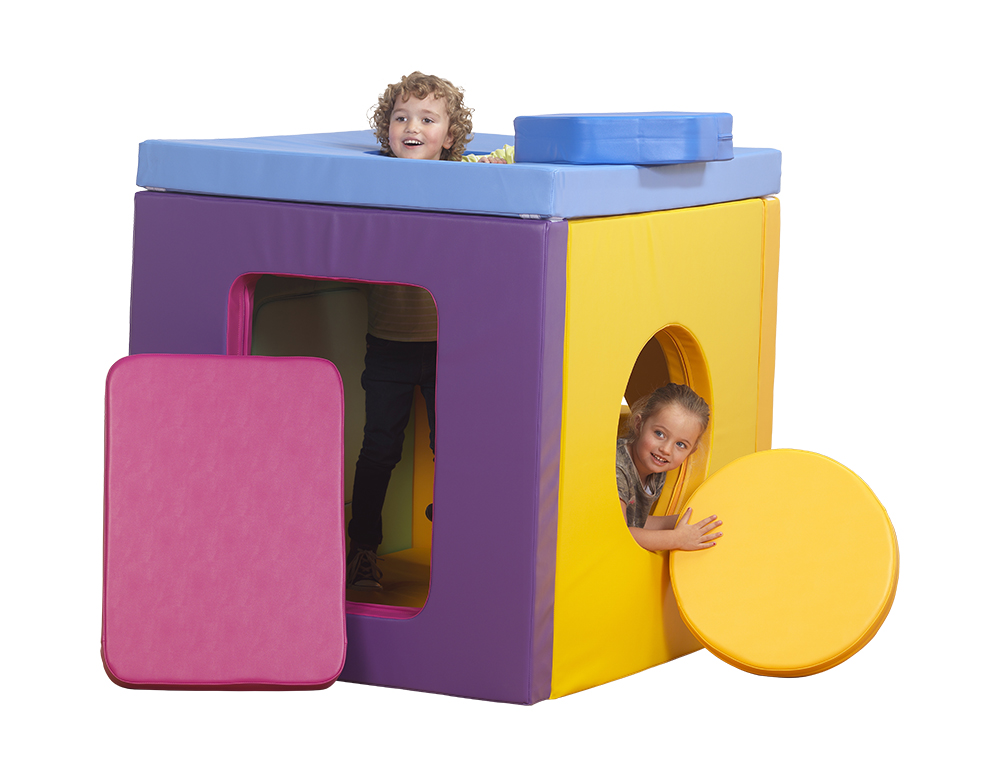 Geometric Cube Soft Play Set