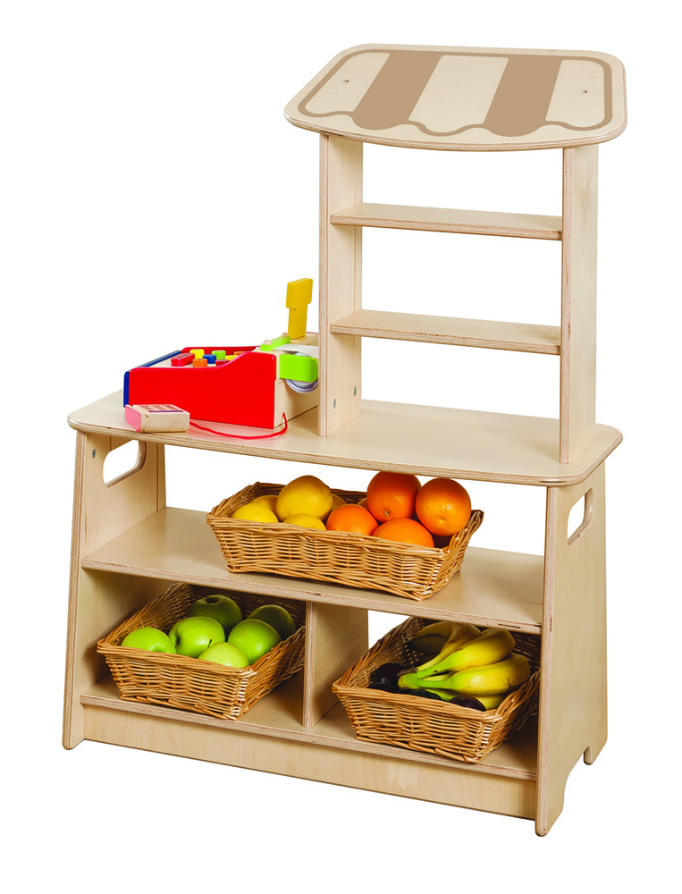 Toddler Wooden Market Stall