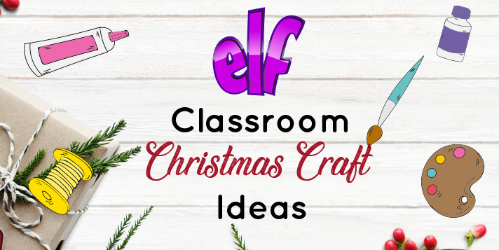 Classroom Christmas Crafts Elf Early Learning Furniture