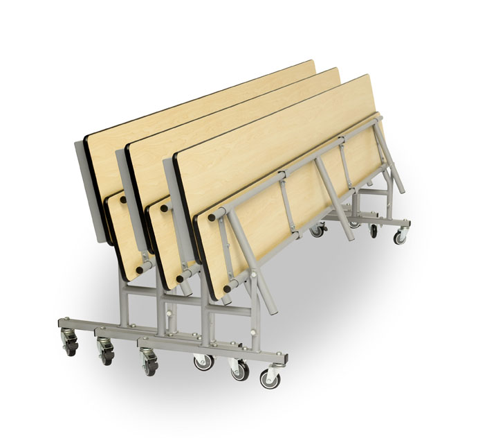 Mobile Convertible Folding Bench Unit