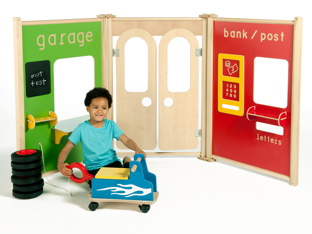 Childrens Role Play Panels Garage
