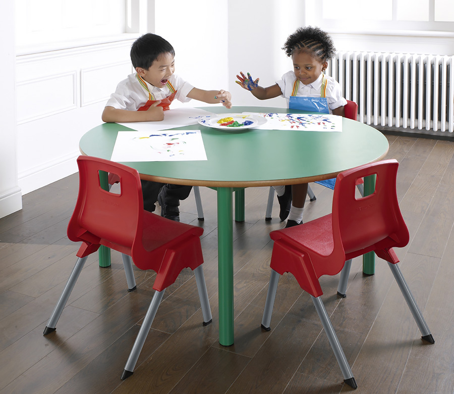 Premium Nursery Table Circular Pack of 2