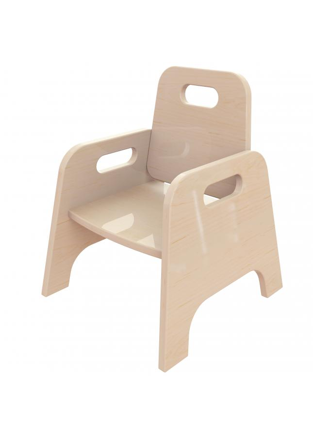 Wooden Toddler Chairs (Pack Of 4)