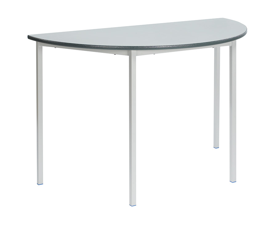 Fully Welded Semi-Circular Classroom Desk Pack of 3