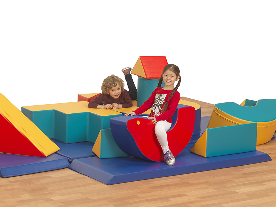 Soft Play Shapes Box
