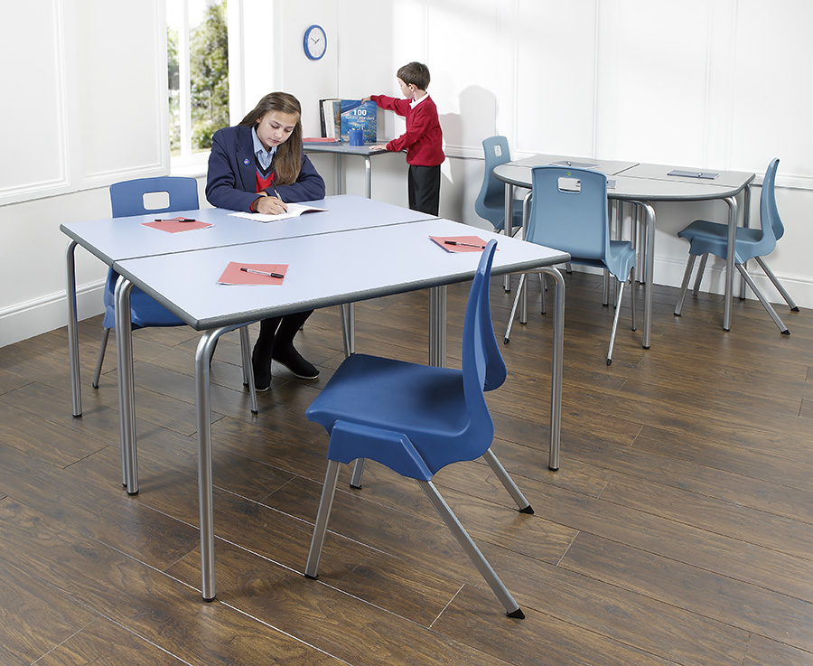 Equation Rectangular Classroom Table Pack of 2