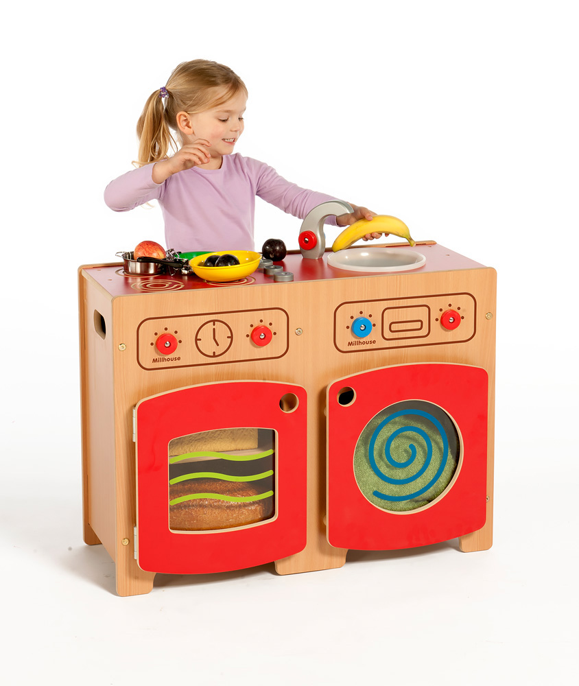 Modular Wooden Kitchen Kit One