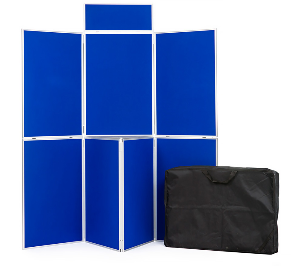 Aluminium Frame 7 Panel School Display Board
