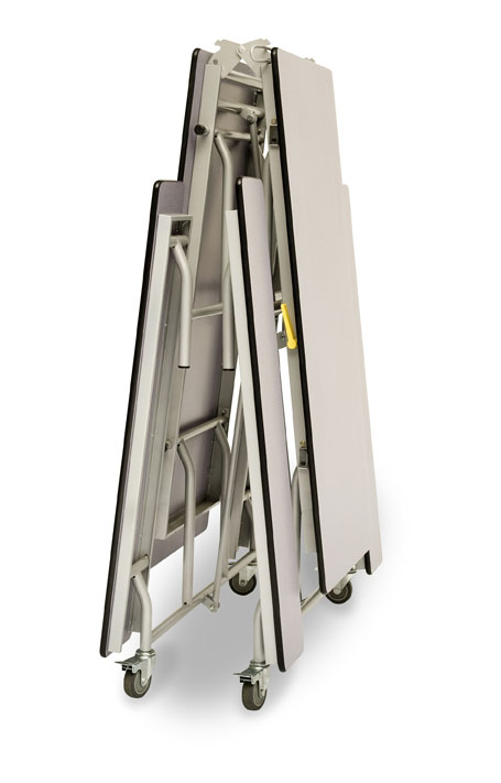 Rectangular Mobile Folding Bench