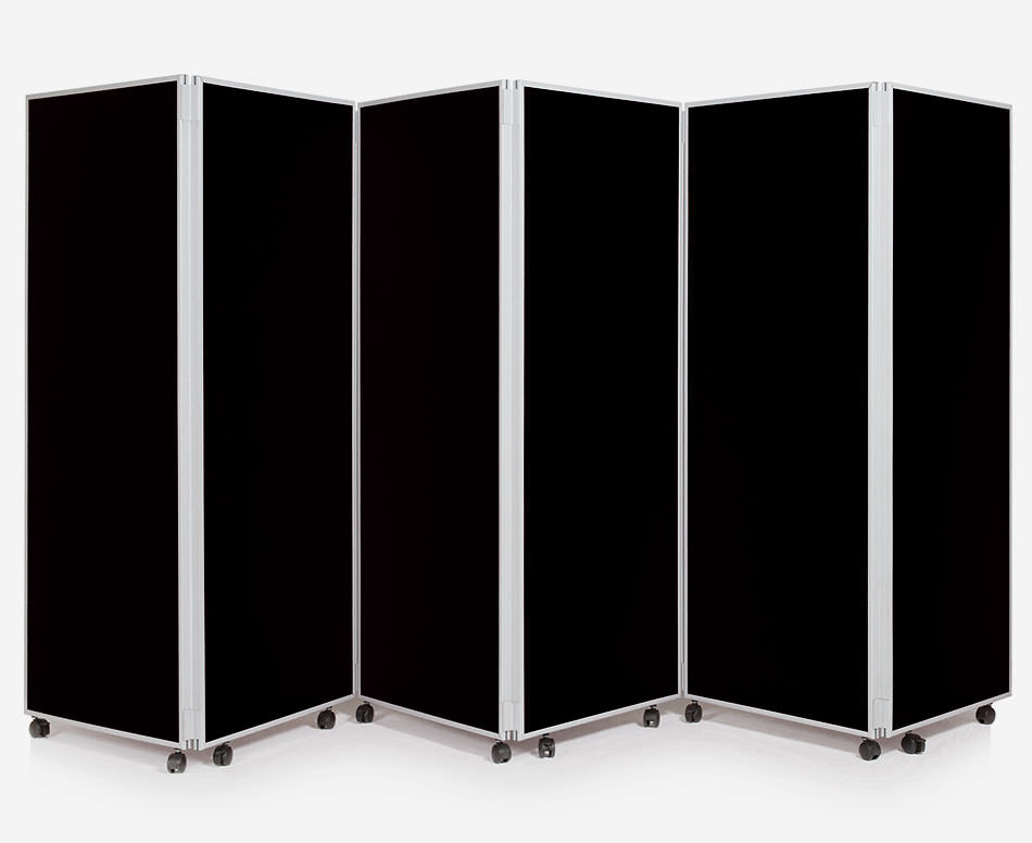 6 Panel Concertina Screen Classroom Dividers