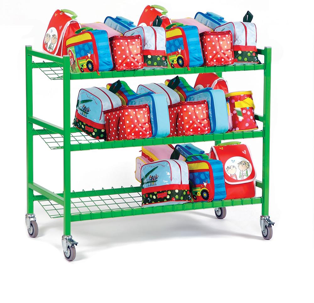 Large School Lunchbox Trolley