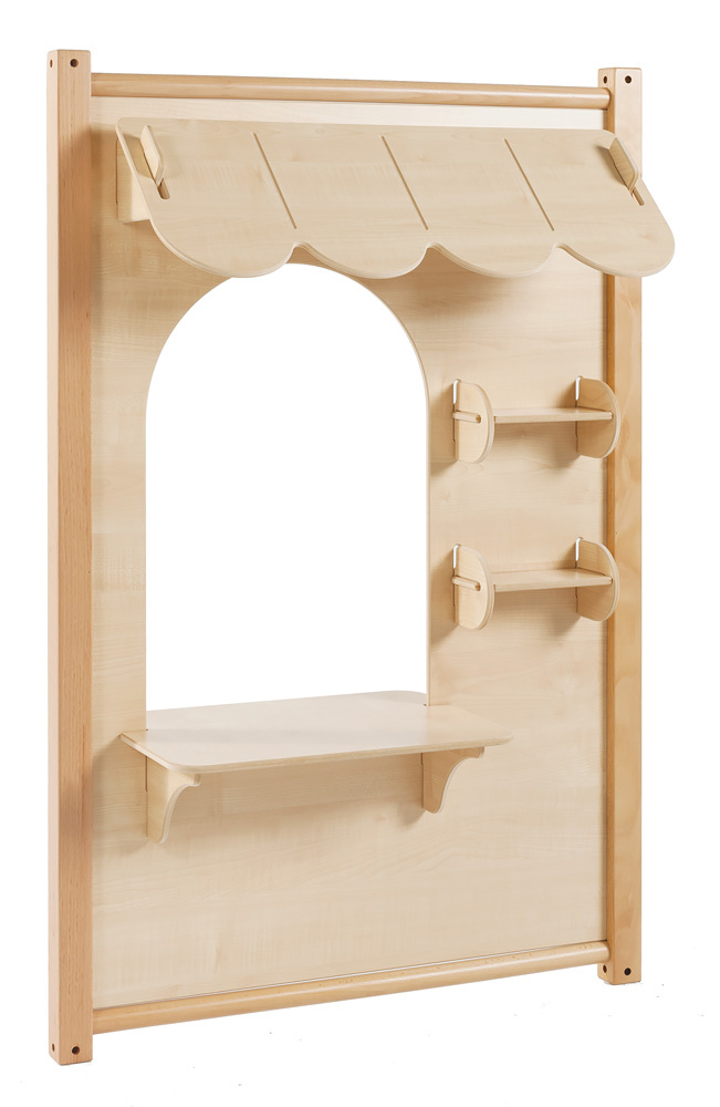 Childrens Role Play Panels Maple Counter