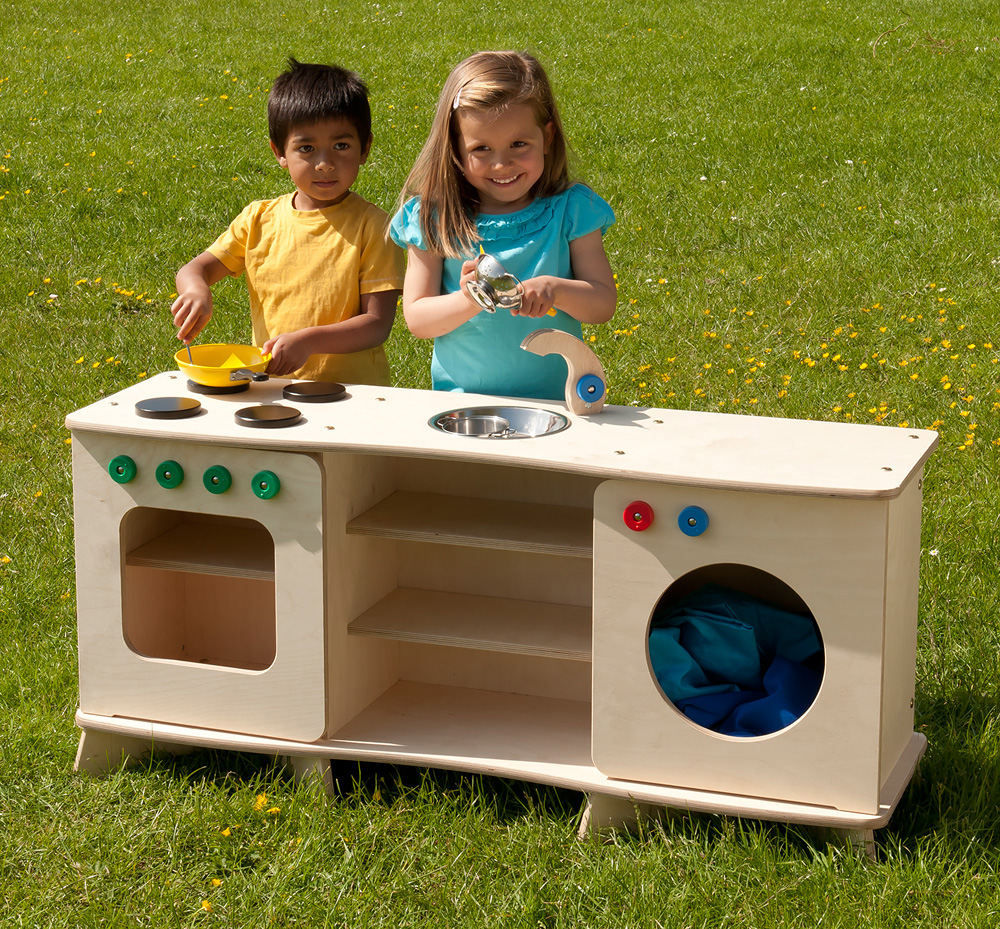 Outdoor Childrens Multi-Kitchen