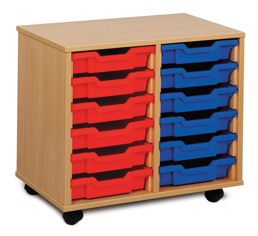Shallow Tray Classroom Storage Units
