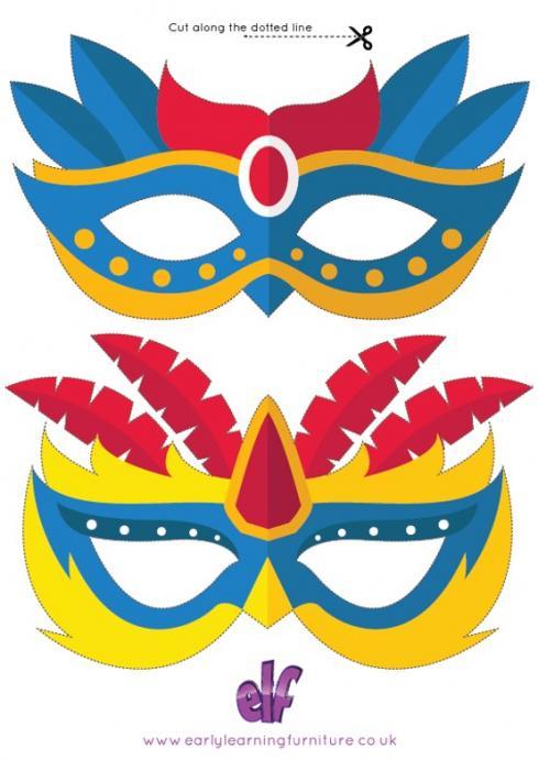 Carnival Face Masks