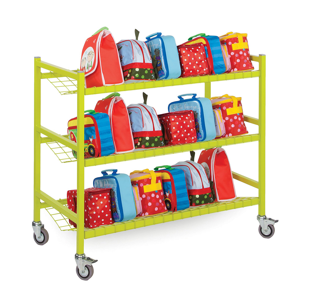 Large School Lunchbox Trolley
