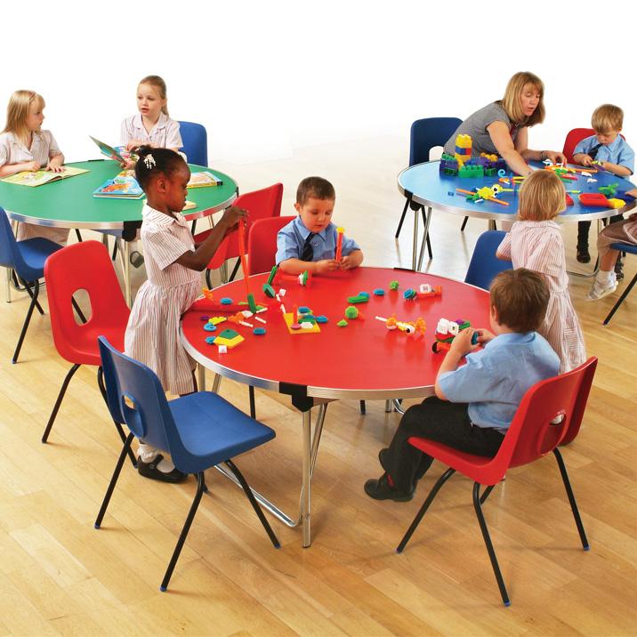 Gopak 4ft Round Laminate Table