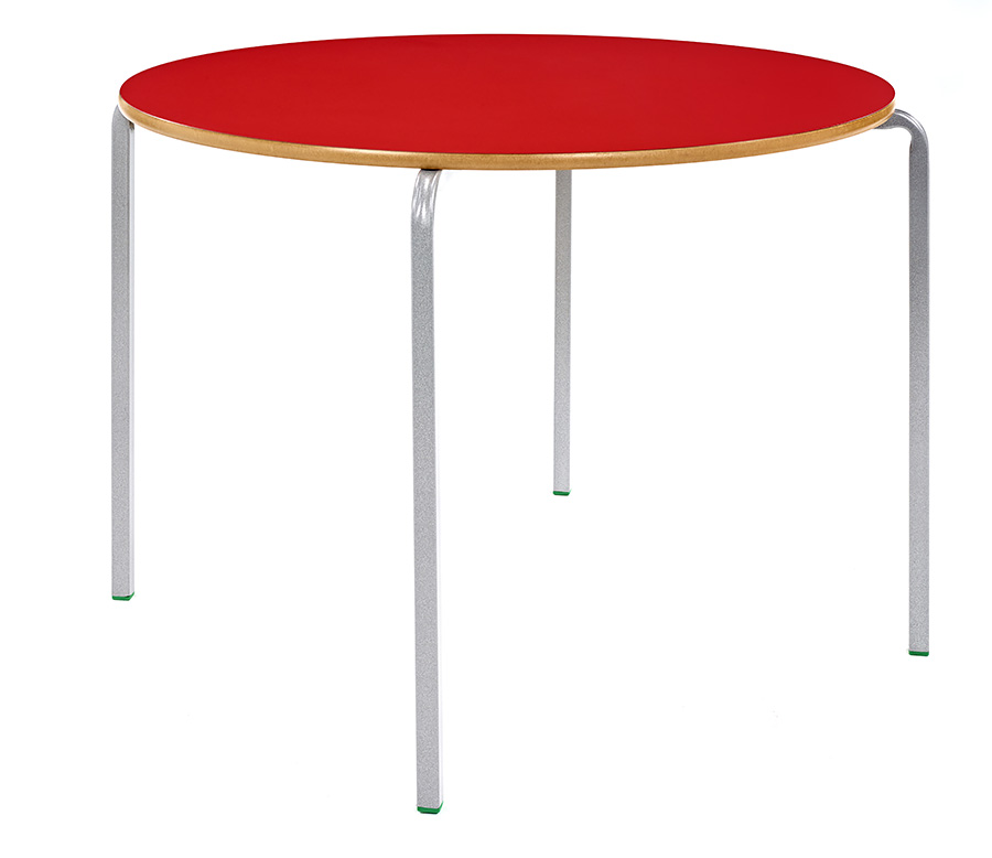 Crush Bent Classroom Table Circular Pack of 3