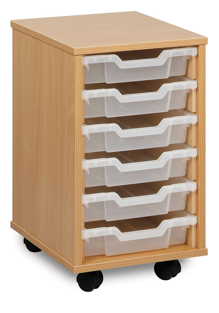 Shallow Tray Classroom Storage Units