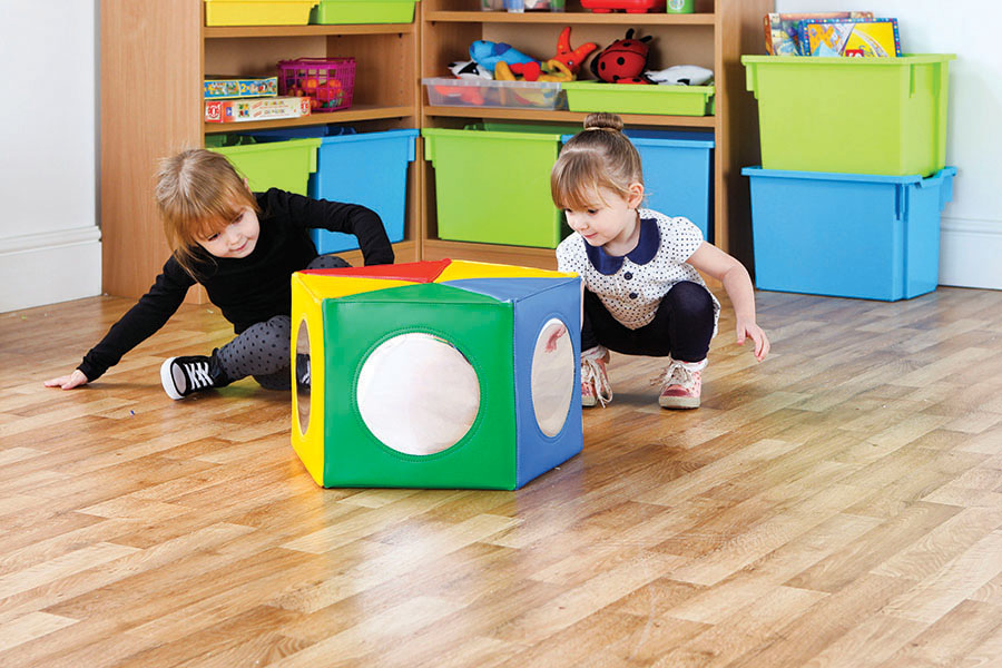 Soft Play Pentagonal Mirror