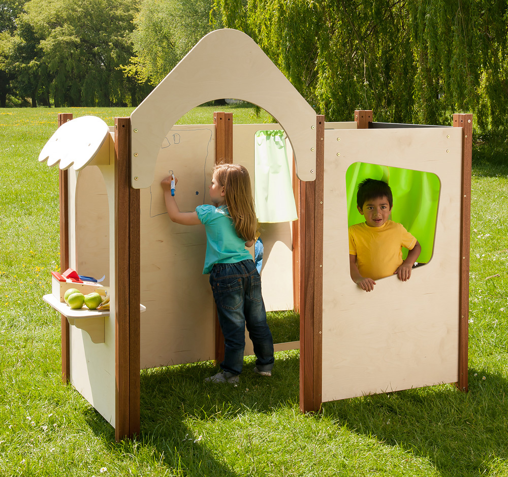 Outdoor Play Panel Window